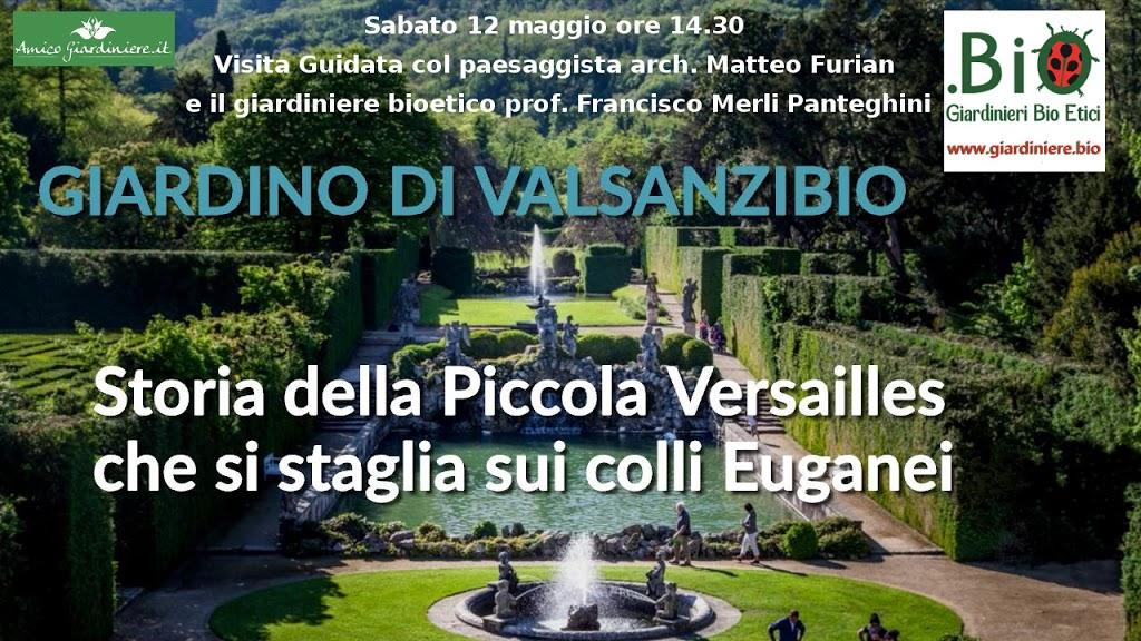 Visita al giardino storico di villa Barbarigo a Valsanzibio (PD)