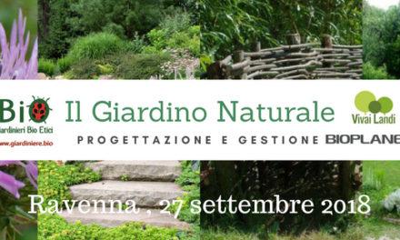 Il giardino naturale: progetto, gestione, popolazioni d'insetti a Ravenna il 27 settembre