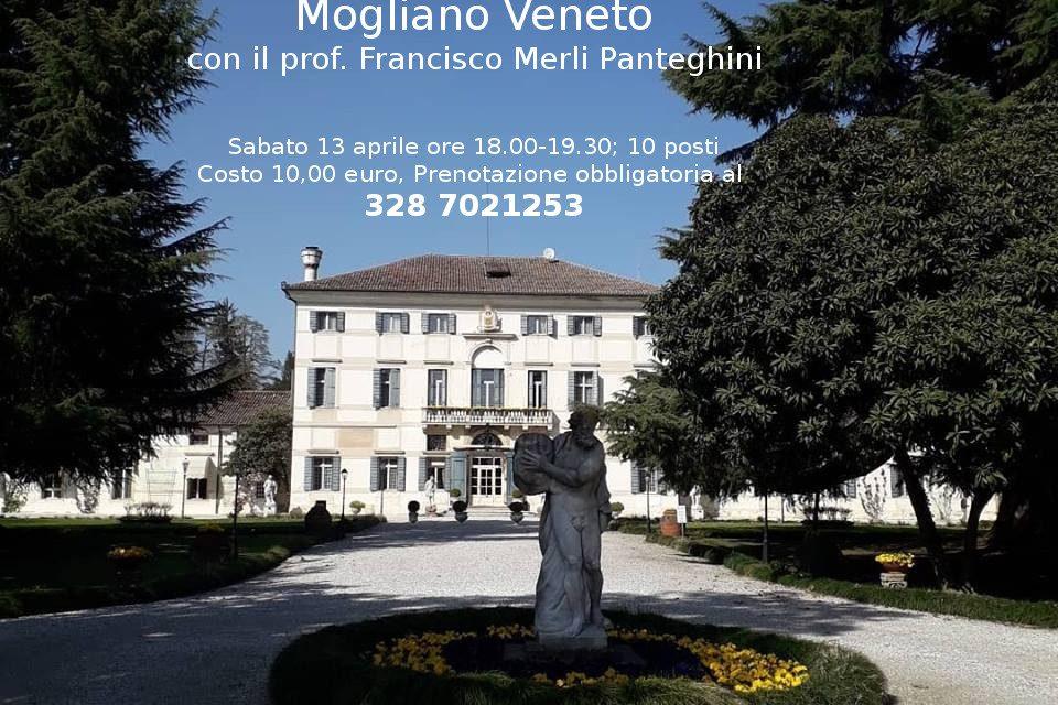 Visita guidata al parco storico di Villa Condulmer con il prof. Francisco Merli Panteghini sabato 13 aprile
