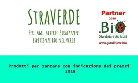 Lotta selettiva alle zanzare con Straverde, partner dei Giardinieri BioE…