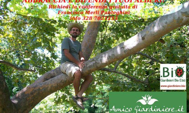 Conferenza Abbraccia e Difendi i tuoi Alberi, con Francisco Merli Panteghini